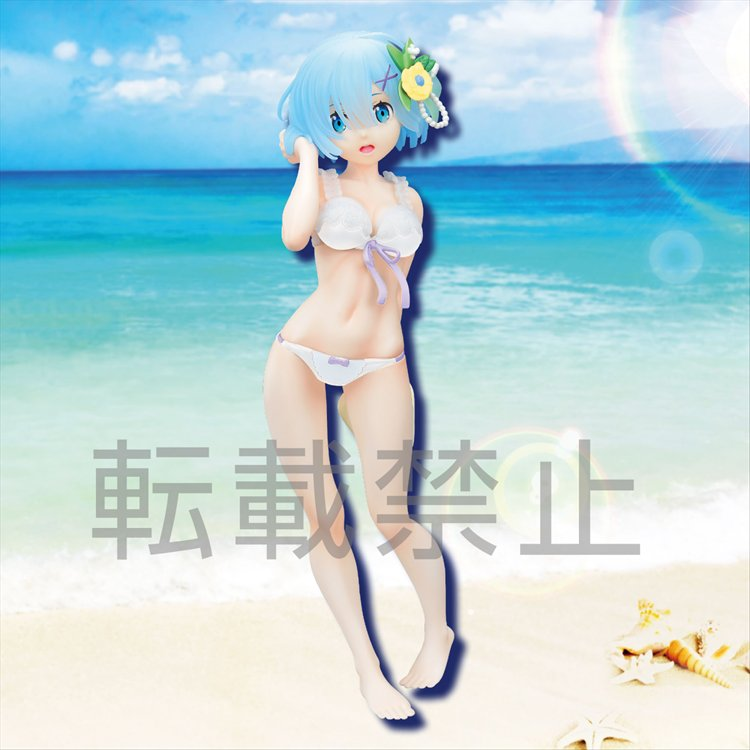 Re:Zero Starting Life In Another World - Rem Summer Sun Ver. LPM Sega Prize Figure