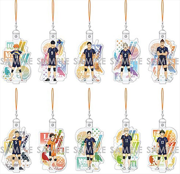 Haikyuu - Acrylic Strap Vol. 3 SINGLE BLIND BOX