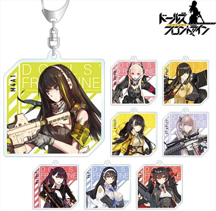 Girls Frontline - Acrylic keychain SINGLE BLIND BOX