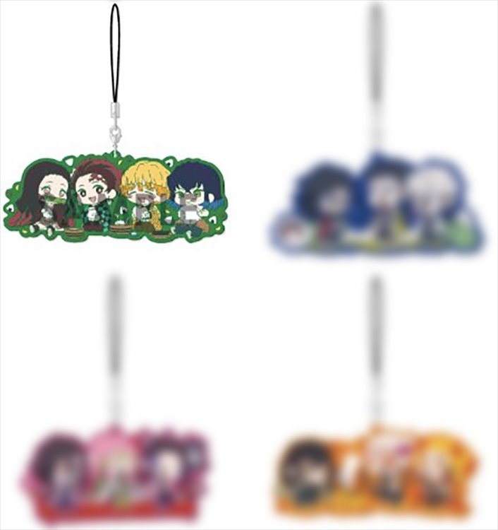 Demon Slayer - Group Rubber Strap A