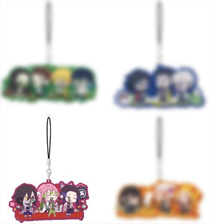 Demon Slayer - Group Rubber Strap C