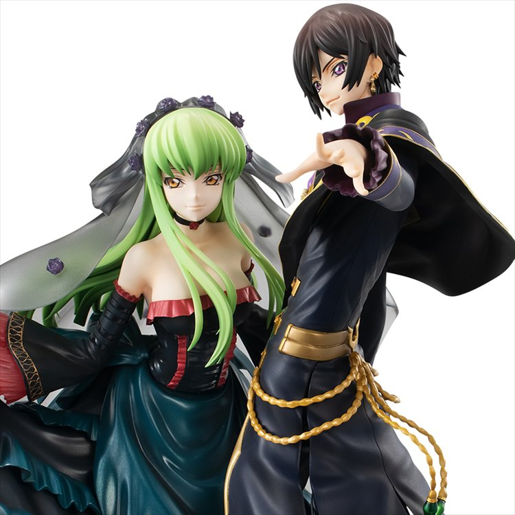Code Geass Re: Surrection - Lelouch and C.C Set Precious G.E.M PVC Figure