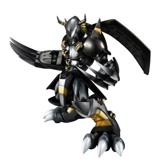 Digimon - Black Wargreymon G.E.M. PVC Figure Re-release
