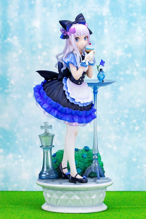 Original Character: Fuji Choko Original Illustration - Non Scale Blue Alice PVC Figure