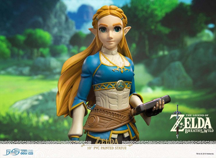 The Legend Of Zelda Breath Of The Wild - Zelda PVC Statue