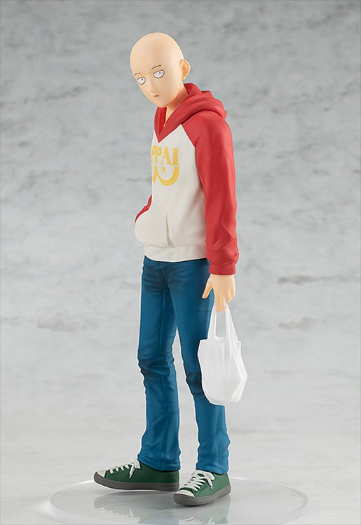 One Punch Man - Saitama Oppai Hoodie Ver. Pop Up Parade PVC Figure
