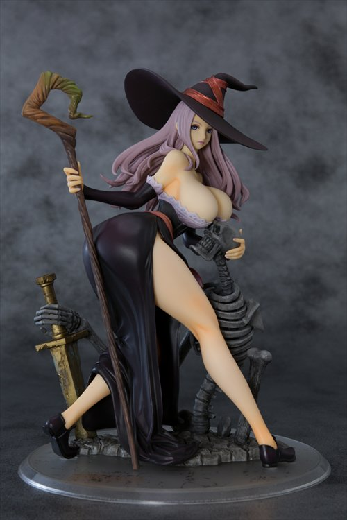 Dragons Crown - 1/6 Sorceress Darkness Crow Ver. PVC Figure