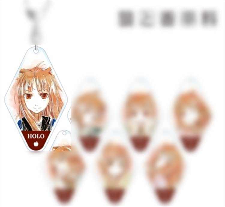 Spice and Wolf - Holo Keychain A