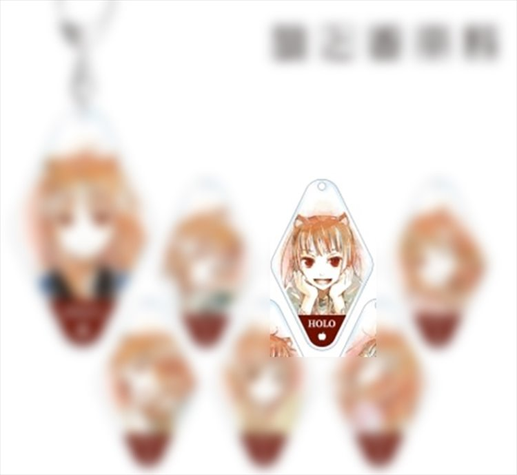 Spice and Wolf - Holo Keychain C
