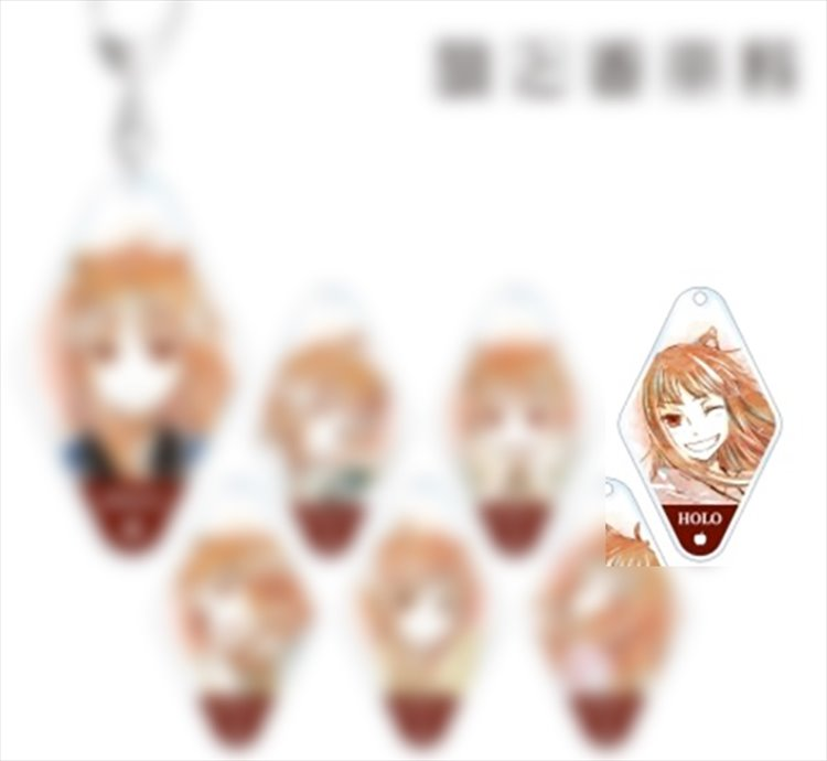 Spice and Wolf - Holo Keychain D