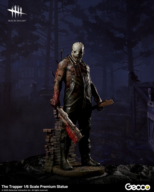 Dead By Daylight - 1/6 The Trapper Premium Statue PVC Figure