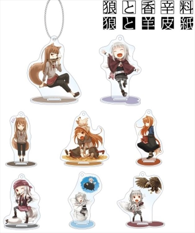 Spice and Wolf - Acrylic Keychain SINGLE BLIND BOX