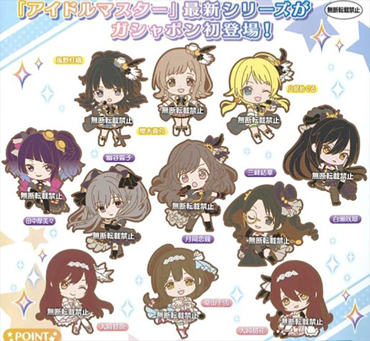 Idolmaster Shiny Color - Rubber Straps Vol. 1 Set of 11
