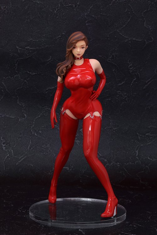 Original Character - 1/6 The Original Bondage Lily Red Ver. PVC Figure