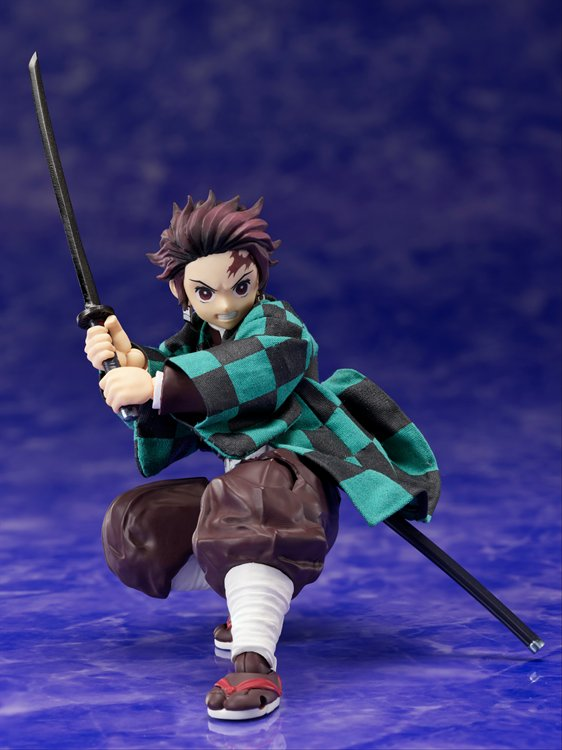 Demon Slayer - 1/12 Tanjiro Kamado Action Figure PVC Figure