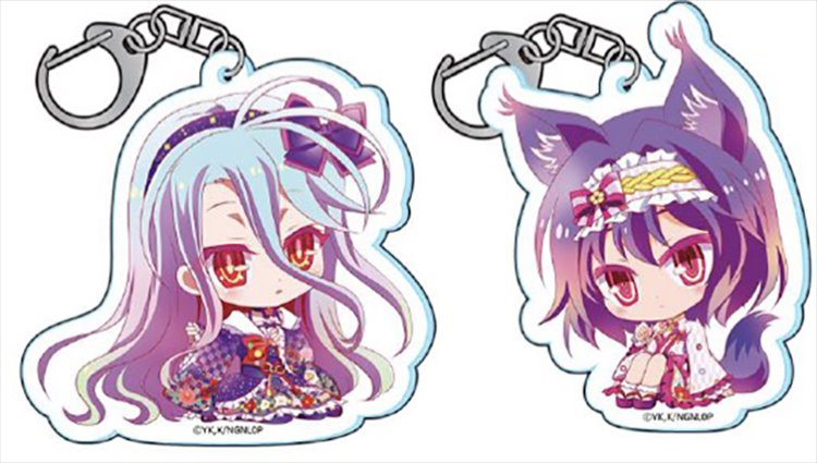 No Game No Life Zero - Acrylic Keychain Lolita Ver Set of 2