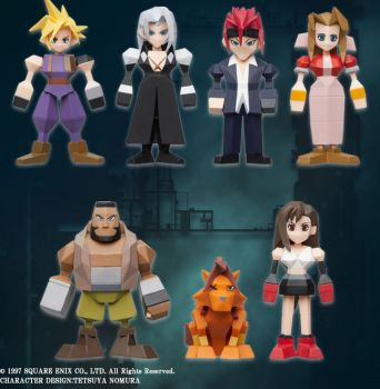 Final Fantasy VII - Polygon Figure SINGLE BLIND BOX