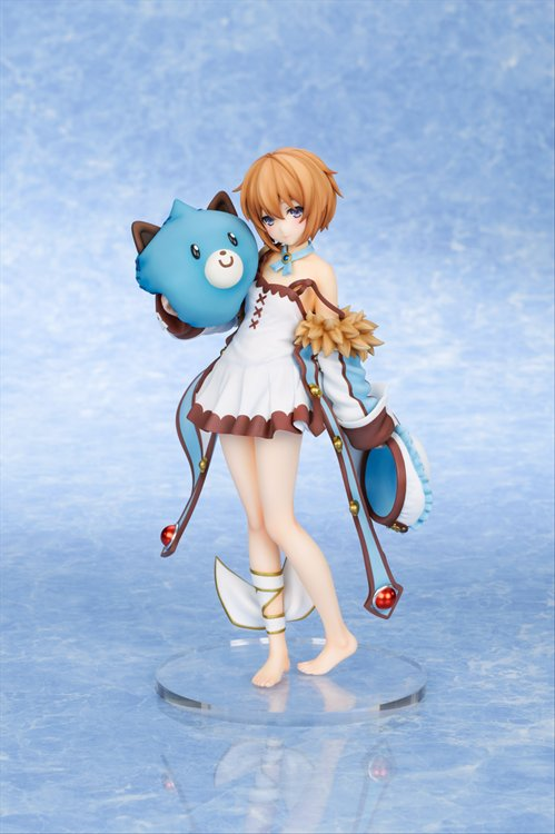 Hyperdimension Neptunia - 1/8 Blanc Wake Up Version PVC Figure