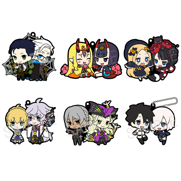 Fate/Grand Order - Rubber Mascot Buddycolle Vol.2 Single BLIND BOX
