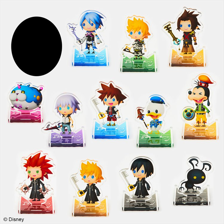 Kingdom Hearts Melody Of Memory - Mini Acrylic Stand Collection SINGLE BLIND BOX