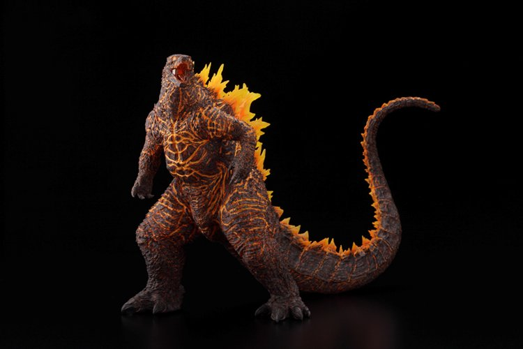Godzilla 2019 - Hyper Solid Series Godzilla Burning Version PVC Figure