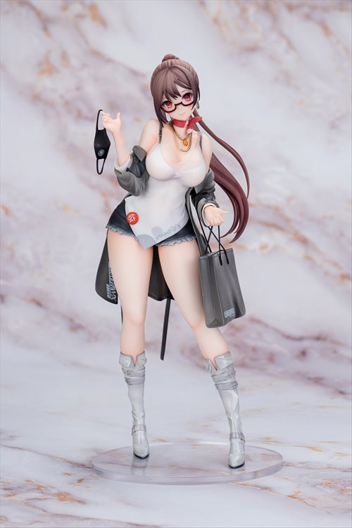 Original Character - 1/7 Apex X Xiami 4th Anniversary At First Sight Grey Ver. PVC Figure