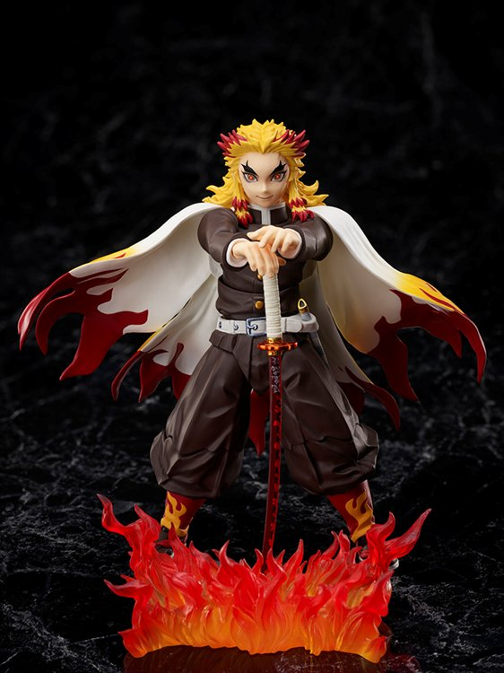 Demon Slayer The Movie - 1/12 Kyojuro Rengoku Mugen Train buzzmod PVC Figure