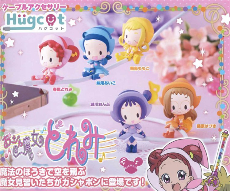 Ojamajo Doremi - Hugcot Mascot Figure Set of 5