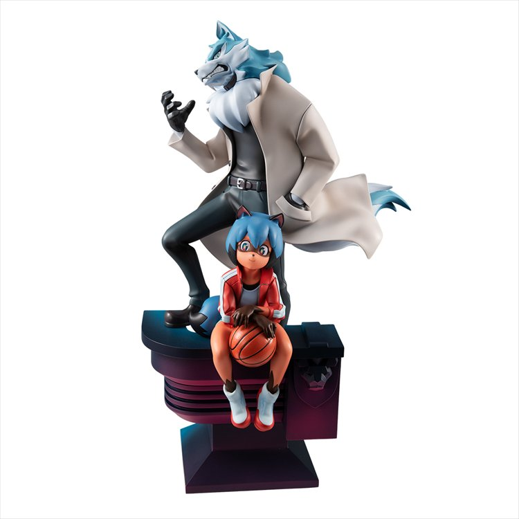 BNA: Brand New Animal - Non Scale Kagemori Michiru and Oogami Shiro PVC Figure
