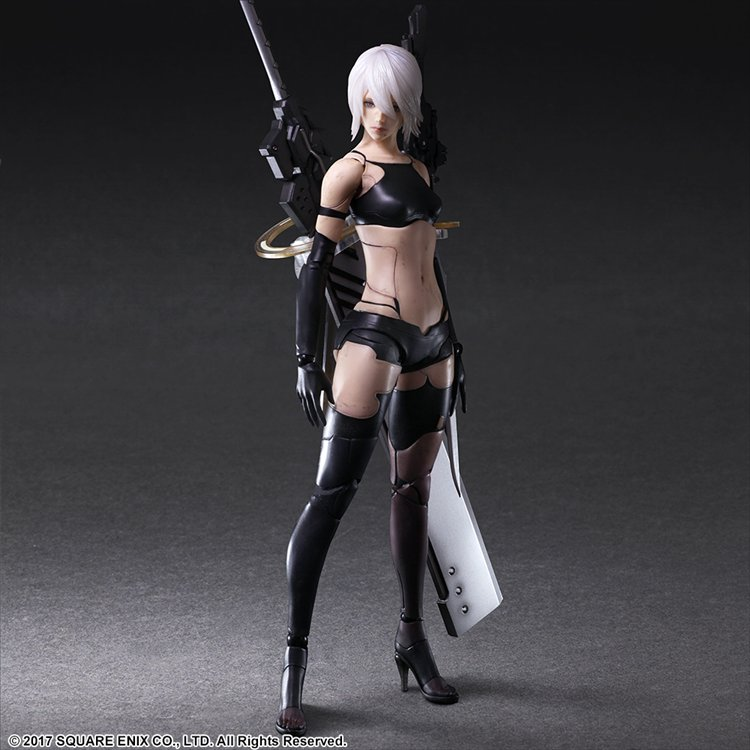 Nier Automata - A2 YoRHa No. 2 Type A DELUXE Ver. Play Arts Kai Action Figure