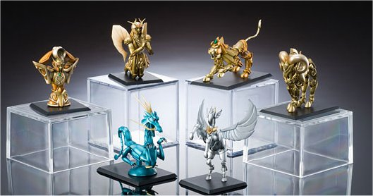 Saint Seiya - Myth Cloth Trading Figure Vol. 1 Set of 6