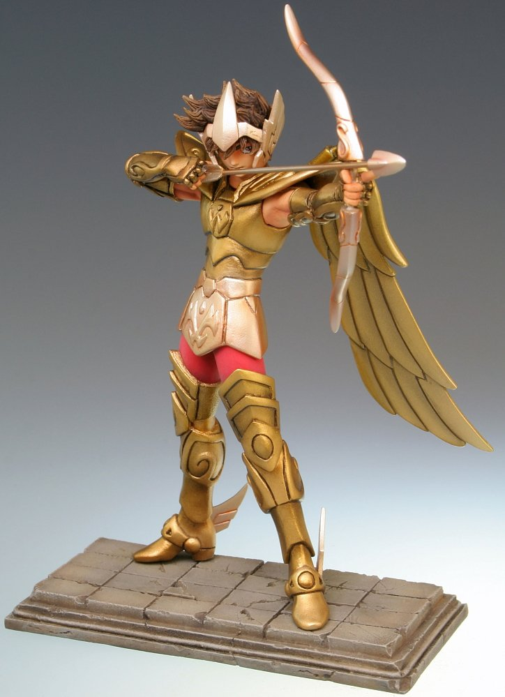 Saint Seiya - Golden Sign of Zodiac Sagittarius Aiolo PVC Figure