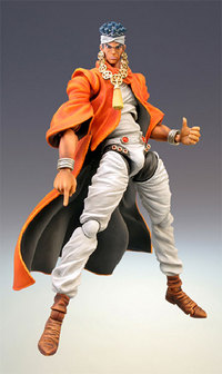 JoJos Bizarre Adventure - Mohammed Abdul Action Figure