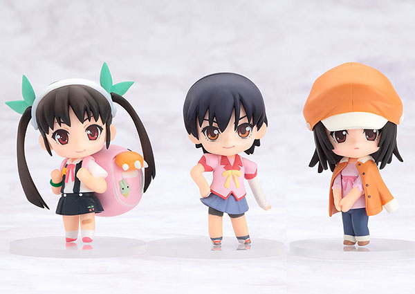 Bakemonogatari - Petit Nendoroid Vol. 2 Set of 3