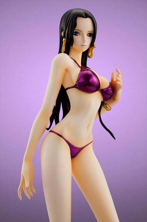 One Piece - 1/8 Boa Hancock Purple Swimsuit MegaTrea Shop Limited POP Ver.
