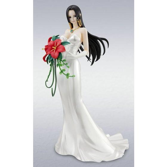 One Piece - 1/8 Boa Hancock Wedding Ver POP Protrait of Priate PVC Figure Limited