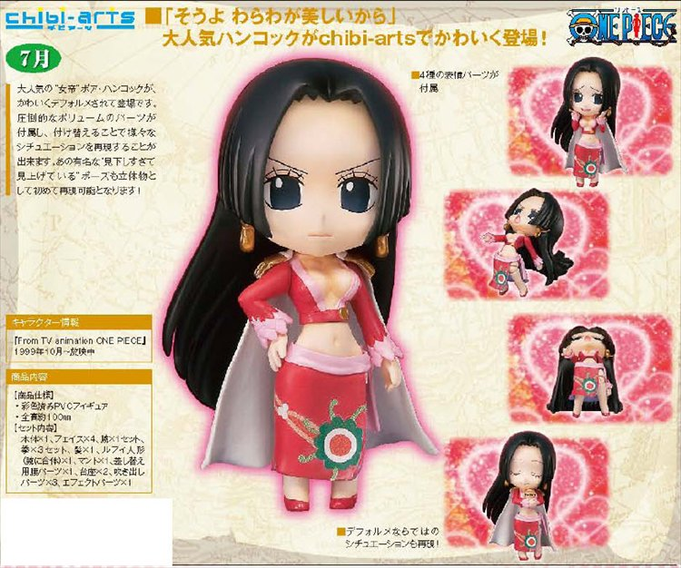 One Piece - Boa Hancock Chibi Arts Figure