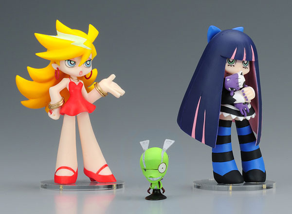 Panty and Stocking with Garterbelt - Panty and Stocking with Chunck PVC Figures