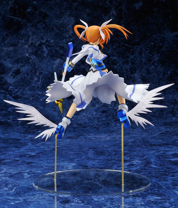 Magical Girl Lyrical Nanoha - 1/7 Nanoha Takamachi Stand By Ready PVC Figure Re-Release