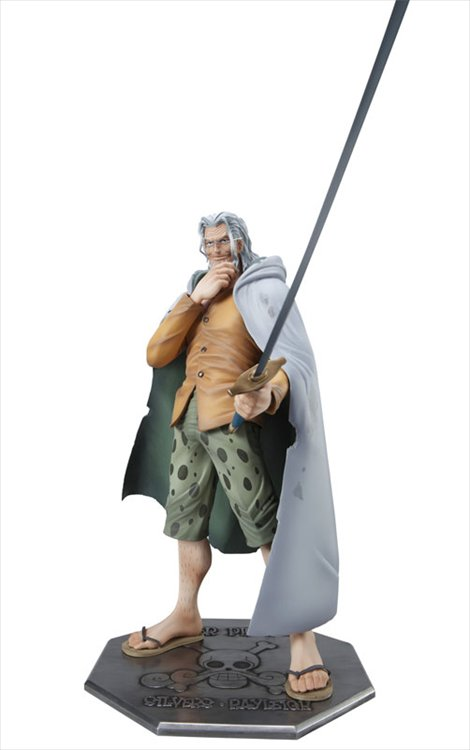 One Piece - Silvers Rayleigh Neo DX POP Mega House Portrait of Pirates PVC Figure