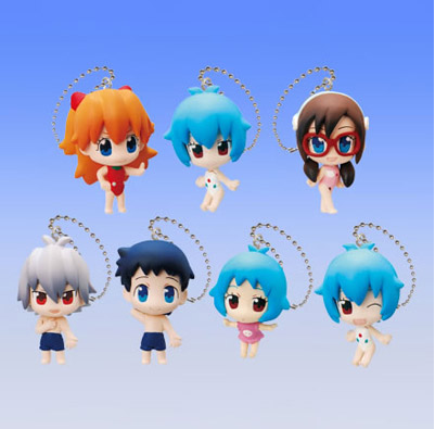 Evangelion - Petit EVA at School Swing Vol. 2 Set of 5