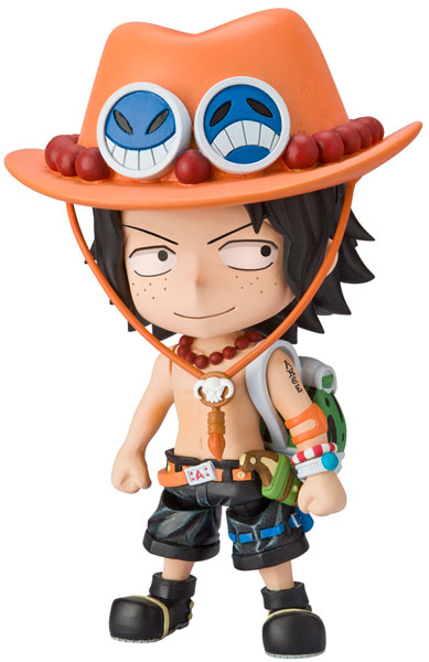 One Piece - Portgas D Ace Chibi Arts PVC Figure