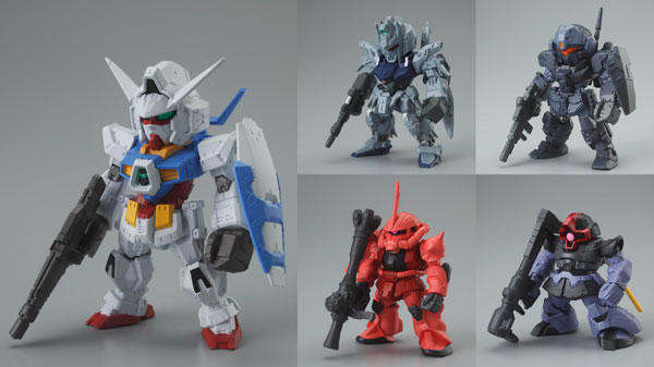 Gundam - Gundam Converge 5 FW Fusion Works Figures Set of 7