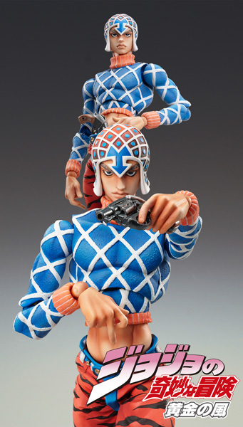 JoJos Bizarre Adventure - Guido Mista & Sex Pistols Vol 5 34 Super Action Statue Action Figure
