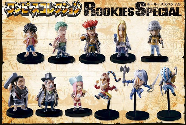 One Piece - One Piece Rookie Special Collection Figures Set of 11