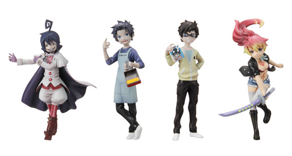 Blue Exorcist - Half Age Characters Vol 2 Trading Figure Set of 4