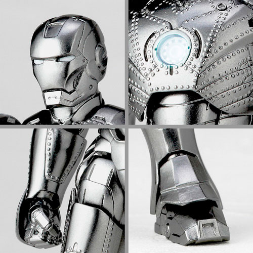 Iron Man - Mark 2 Revoltech No 035 Action Figure