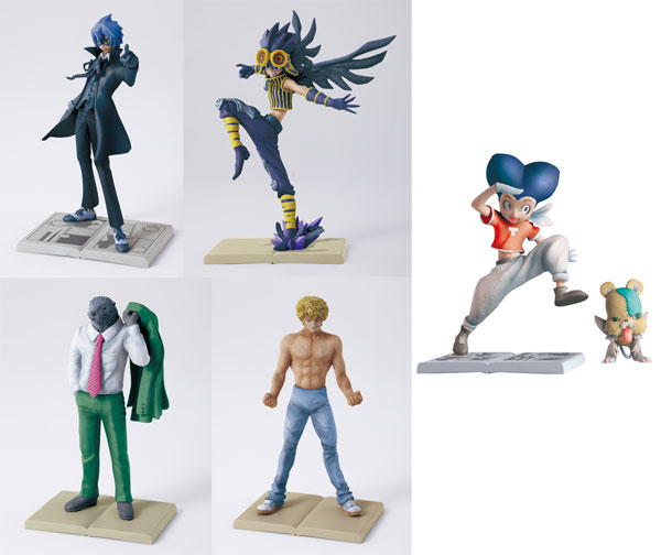 Bakuman - Diorama Collection 1 Trading Figure Box