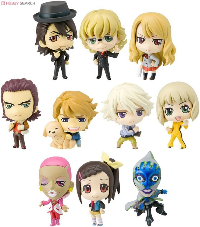 Tiger and Bunny - Deformeister Petit Off Shot Edition Trading Figure Box