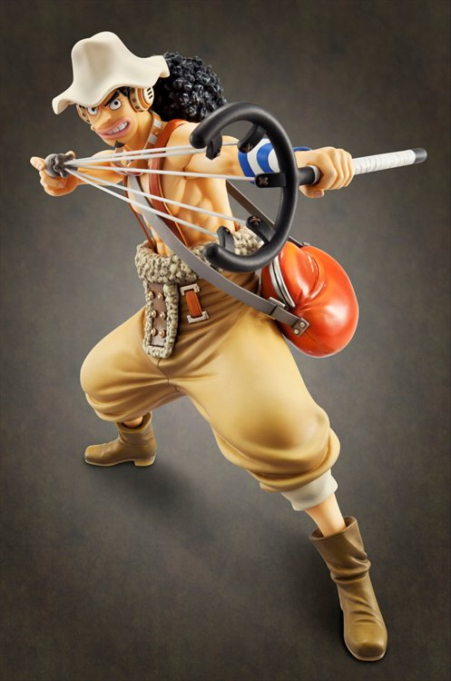 One Piece - 1/8 Usopp Sailing Again Portrait of Pirates POP Mega House PVC Figure